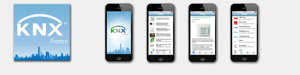 Application iPhone/iPad pour KNX France